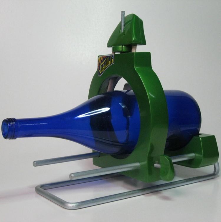 Cortador de botellas vidrillete el arte del vidrio for Cortar cristal para gatera
